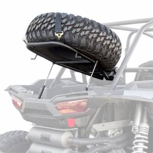 HMF Racing - HMF Spare Tire Rack, Polaris RZR XP 1000