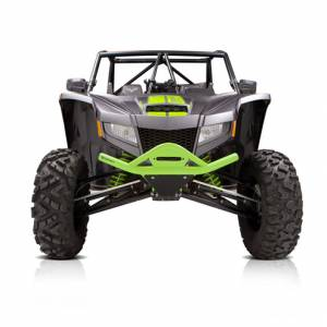 HMF Racing - HMF Defender HD Front Bumper, Textron Wildcat XX, Zombie Green (2018-19)