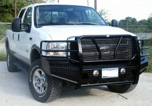 Frontier Truck Gear - Frontier Original Front Bumper Replacement, Ford (2005-07)F-250, F-350, F-450, F-550, &(05') Excursion - Image 2