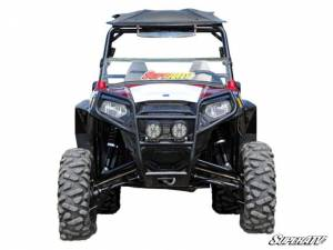 "UTV/ATV - UTV Lift Kits/ Portals - SuperATV - Polaris RZR 800, 5"" Lift Kit, High Clearance 1.5 Offset, Rhino 2.0 Axles (2008-14) White"