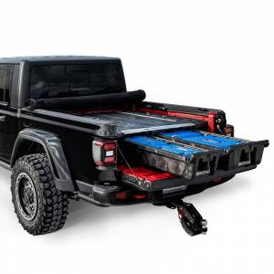 Tools - Tool Boxes - Decked - Decked Bed Storage Solution, Jeep (2020) Gladiator