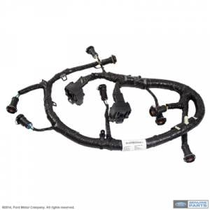 Engine Parts - Engine Wiring - Ford Genuine Parts - Ford Motorcraft FICM Fuel Injector Harness, Ford (2005-07) 6.0L Power Stroke