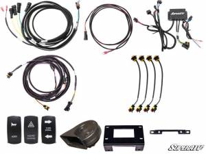 Electronic Accessories - Electronic Accessories Mounts - SuperATV - Can-Am Defender Plug & Play Turn Signal Kit (Deluxe Plug and Play)