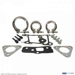 Turbos/Superchargers & Parts - Single Turbo Install Kits - Ford Genuine Parts - Ford Motorcraft Turbo Hardware Install Kit, Ford (2015-16) 6.7L Power Stroke