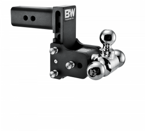 "2"" Hitches - Drop Hitches - B&W Trailer Hitches - B&W Tow & Stow 2.5"" Receiver Hitch, 5"" drop - 5.5"" rise (1-7/8"" x 2"" x 2-5/16"")"