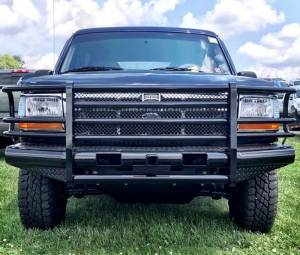 Ranch Hand - Ranch Hand Legend Bumper, Ford (1992-96) F-150, F-250, F-350, & Bronco - Image 5