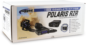 Electronic Accessories - VHF/UHF Radios - Rugged Radios - Rugged Radios Polaris RZR Complete Kit