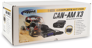 Electronic Accessories - VHF/UHF Radios - Rugged Radios - Rugged Radios Can Am X3 & X3 Max, Complete Kit