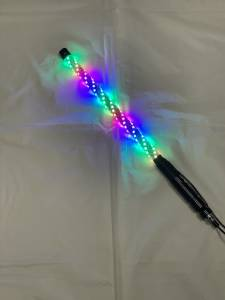Lighting - Whip Lights - BTR Products - BTR Whip Lights, Twisted Multicolor 2' Whip Single w/ Remote