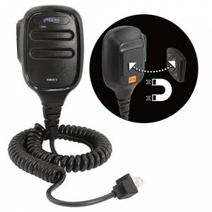 UTV Radios/Audio - Hand Held - Rugged Radios - Rugged Radios RM-60 and RM-45 Hand Mic with Scosche MagicMount