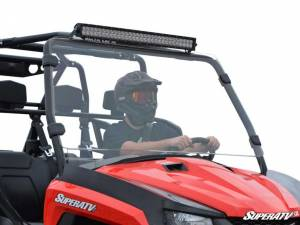UTV Windshield - Full/ Vented Windshields - SuperATV - Arctic Cat Prowler Full Windshield