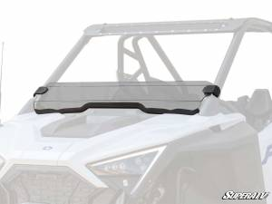 UTV Windshield - Half Windshields - SuperATV - Polaris RZR PRO XP Half Windshield(Scratch Resistant Polycarbonate) Clear