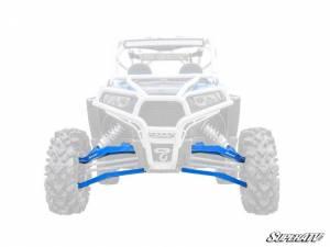 "UTV/ATV - UTV Radius Arms - SuperATV - Polaris RZR XP 1000, Standard Editon, 3"" Boxed Long Travel Kit, (2014-16) Blue"