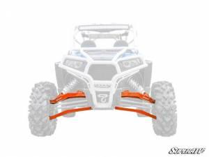 "UTV/ATV - UTV Radius Arms - SuperATV - Polaris RZR XP 1000, Standard Editon, 3"" Boxed Long Travel Kit, (2017-19) Orange"