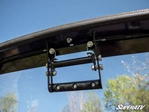 SuperATV - Polaris Ranger XP 1000 High Lifter Edition, Scratch Resistant Flip Windshield Standard Cab (2019) - Image 7