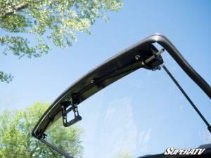 SuperATV - Polaris Ranger XP 1000 High Lifter Edition, Scratch Resistant Flip Windshield Standard Cab (2019) - Image 8