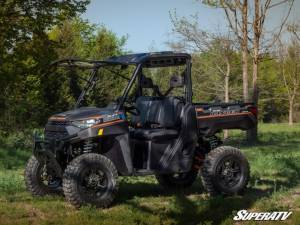 SuperATV - Polaris Ranger XP 1000 Crew, NorthStar Edition, Scratch Resistant Flip Windshield Standard Cab (2019-2020) - Image 5