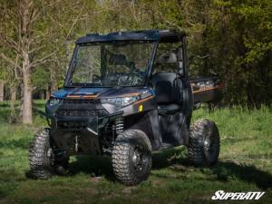 SuperATV - Polaris Ranger XP 1000 Crew, NorthStar Edition, Scratch Resistant Flip Windshield Standard Cab (2019-2020) - Image 2