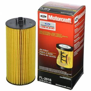 Ford Genuine Parts - Ford Motorcraft FL-2016 Oil Filter, Ford (2003-10) 6.0L & 6.4L Power Stroke