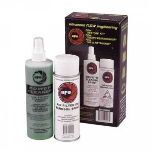 Air Intake & Cleaning Kits - Air Filter Cleaning Kits - aFe - aFe Aerosol Restore Kit, Gold