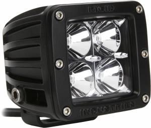 Off-Road Lighting - Cube LED Lights - Rigid Industries - Rigid Industries Pod, Dually LED Light - Flood