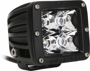 Off-Road Lighting - Cube LED Lights - Rigid Industries - Rigid Industries Pod, Dually LED Light - Spot