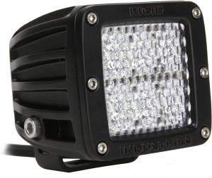 Off-Road Lighting - Cube LED Lights - Rigid Industries - Rigid Industries Pod, Dually LED Light - Diffused (White)