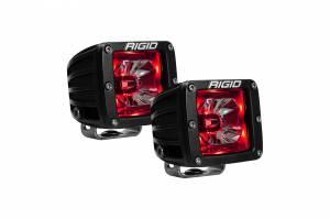 Rigid Industries - Rigid Industries Pod, Radiance LED Light - Red