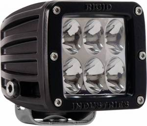 Off-Road Lighting - Cube LED Lights - Rigid Industries - Rigid Industries Pod, D2 LED Light - Driving