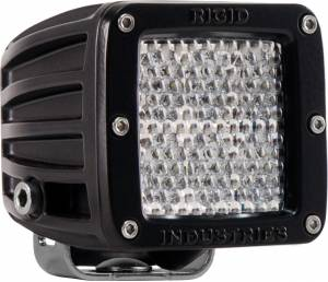 Off-Road Lighting - Cube LED Lights - Rigid Industries - Rigid Industries Pod, D2 LED Light - Diffused (White)