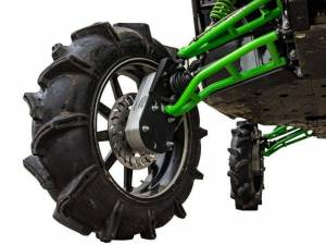 "UTV Lift Kits/ Portals - Portals - SuperATV - Kawasaki Teryx, 8"" Portal Gear Lift, Cast, With Frame Stiffener"