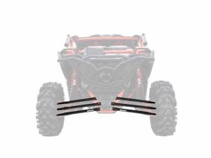 UTV/ATV - UTV Radius Arms - SuperATV - Can-Am Maverick X3, 72 inch, Boxed Radius Arms Complete Kit (Black)