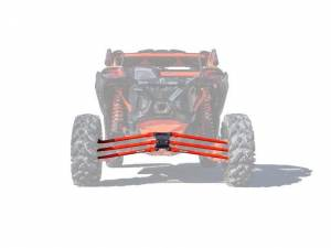 UTV/ATV - UTV Radius Arms - SuperATV - Can-Am Maverick X3, 72 inch, Tubed Radius Arms Complete Kit (Red)