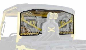 UTV Windshield - Rear Windshields - SuperATV - Can-Am Defender XMR Rear Windshield (Standard Polycarbonate) - Light Tint