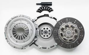 Transmission - Clutches/Clutch Parts - South Bend Clutch - South Bend Clutch  HD Solid Single Flywheel Conversion Kit, Chevy/GMC (2001-05) 6.6L Duramax, 375hp Organic