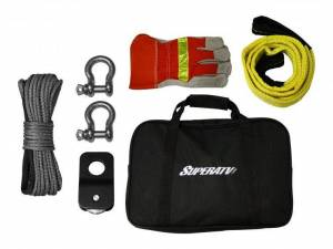 UTV/ATV - SuperATV - SuperATV Winch Deluxe Accessory Kit
