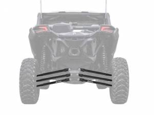 Can-Am Maverick X3, 64 inch, Boxed Radius Arms Complete Kit (Black)