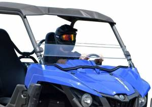 UTV Windshield - Half Windshields - SuperATV - Yamaha Wolverine Half Windshield (Standard Polycarbonate) Clear