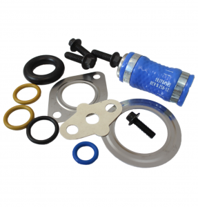 Engine Parts - EGR System Parts - Ford Genuine Parts - Ford Motorcraft EGR & Turbo Install Kit, Ford (2003-07) 6.0L Power Stroke