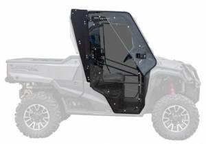 UTV/ATV - UTV Doors - SuperATV - Honda Pioneer 1000 Full Cab Enclosure Doors, Scratch Resistant Polycarbonate-Light Tint