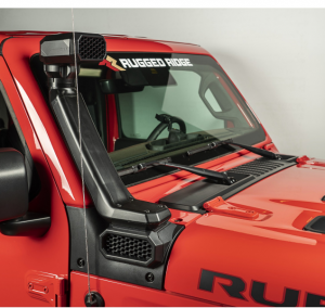 Jeep Body Parts/ Accessories - Rugged Ridge - Rugged Ridge AmFib Low/High Mount Snorkel System, Jeep Wrangler JL (2018-19)