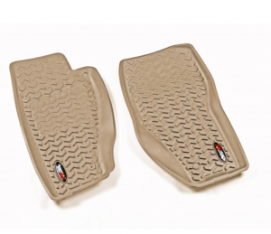 Interior Accessories - Floor Liners/Mats - Rugged Ridge - Rugged Ridge All Terrain Floor Liner, Front Pair, 08-12 Jeep Liberty KK