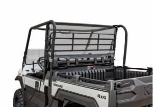 UTV Windshield - Rear Windshields - SuperATV - Kawasaki Mule Pro FX Rear Windshield