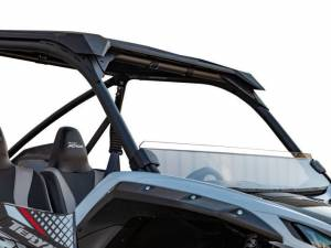 UTV Windshield - Half Windshields - SuperATV - Kawasaki Teryx KRX 1000,Half Windshield  (Standard Polycarbonate) Clear