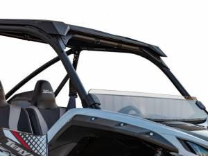 UTV Windshield - Half Windshields - SuperATV - Kawasaki Teryx KRX 1000, Half Windshield  (Scratch Resistant Polycarbonate) Light Tint