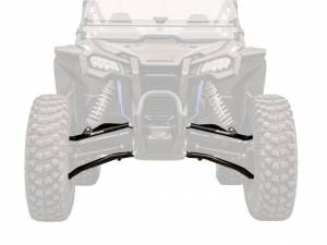 "UTV/ATV - UTV Radius Arms - SuperATV - Honda Talon 1000X High Clearance 1.5"" Forward Offset A-Arms"