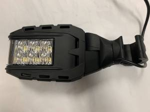 Off-Road Lighting - LED Lights - BTR Products - BTR Off Road Mirrors with LED Lights