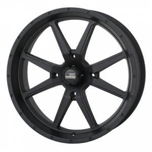 UTV Tires/Wheels - Wheels - Frontline Tires - Frontline All Terrain 556, Stealth, UTV Wheels - 20x 6.5 wheels, (4/156) 4+2.5 Offset, +10mm