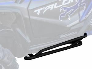 UTV/ATV - UTV Rock Sliders/Nerf Bars - SuperATV - Honda Talon 1000 Nerf Bars, 2019 (Black)