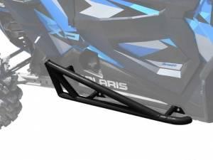 UTV/ATV - UTV Rock Sliders/Nerf Bars - SuperATV - Polaris RZR XP Turbo Nerf Bars, 2 Seater, *Black* (2016-19)